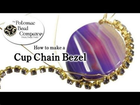 how to make bezel jewelry diy jewelry how to make a cup chain bezel beading