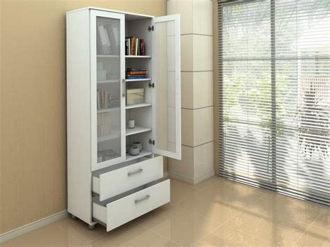 contemporary bookcase with doors bloombety contemporary bookcase with glass doors