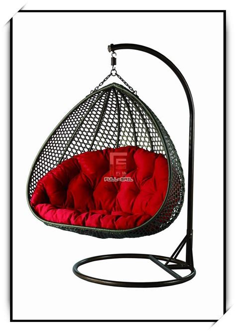 china wicker furniture rattan swing chair fs 9522