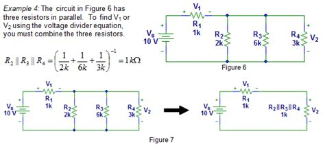 how do resistors divide voltage in a series circuit voltage divider exles engineersphere