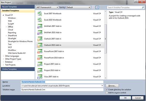 microsoft dynamics crm 2013 outlook integration part 2 crm blog dynamictouch extending the microsoft outlook