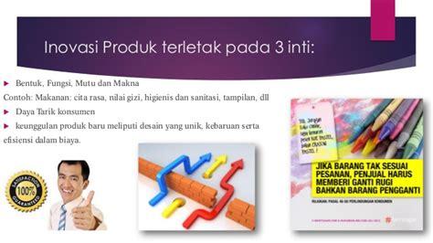 inovasi produk dan manajemen