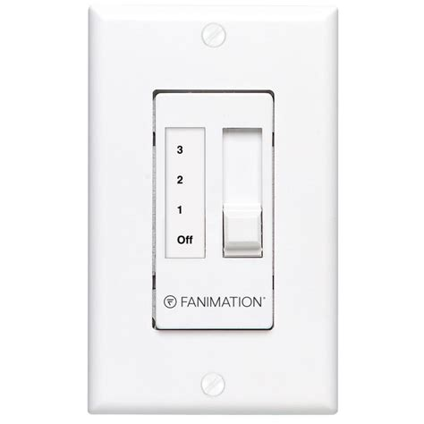 fanimation wall mount fan shop fanimation white wall mount ceiling fan remote