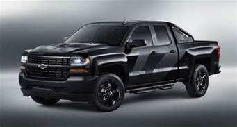 Chevrolet Silverado Special Edition 2016 Chevrolet Silverado Special Ops Revealed Gm Authority