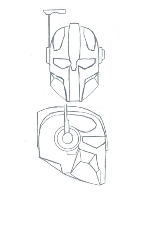 mandalorian armour template mandalorian coloring pages