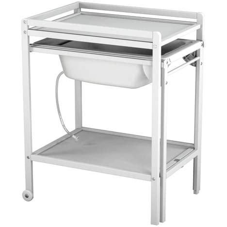 Table A Langer Baignoire Pas Cher by Table A Langer Bois Baignoire At4 Pas Cher 224 Prix Auchan