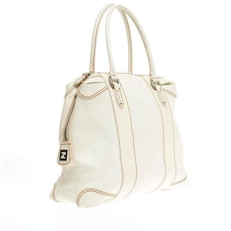 Fendi B Mix Large Tote by Fendi B Mix Tote Leather Large At 1stdibs