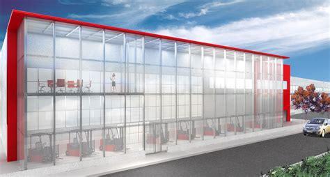 progetto capannone progettazione showroom capannone acheo design