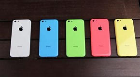Image result for iPhone 5c Colors. Size: 290 x 160. Source: www.extremetech.com