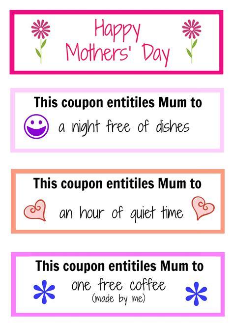 coupon ideas 39 s day coupon book ideas