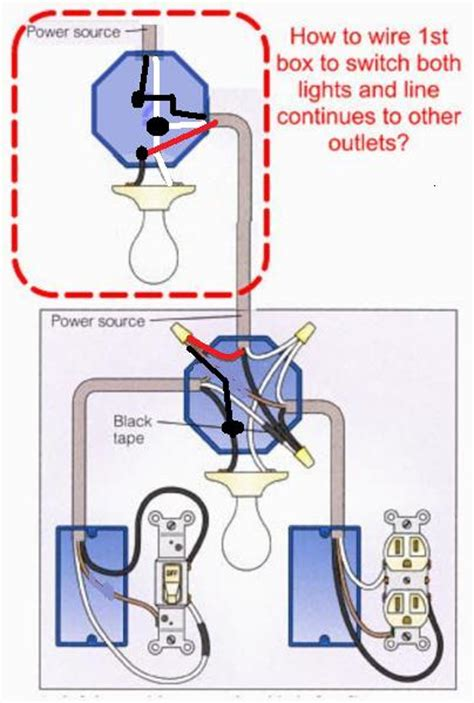 how to wire light according to diagram doityourself com