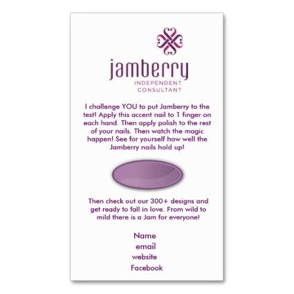 printable jamberry instructions nails fashionista jamberry sle card business card