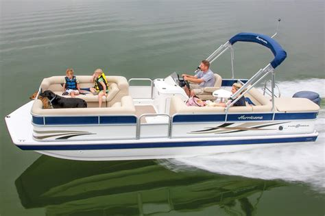 pontoon boats hurricane hurricane fundeck 226 boats for sale boats