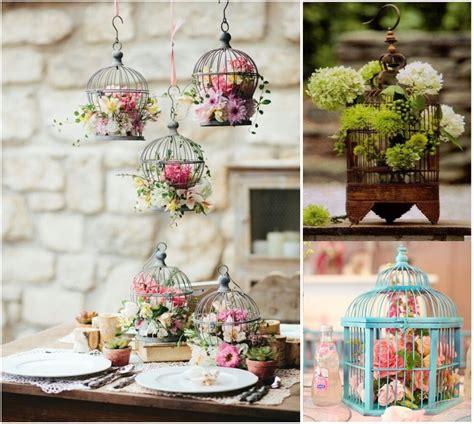 ideas para decorar con jaulas 10 cosas originales para decorar tu mesa esta temporada