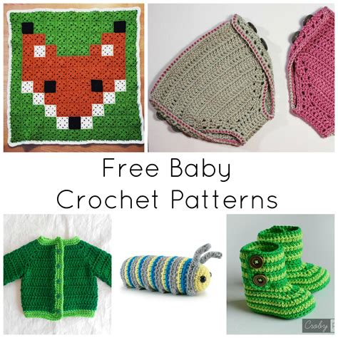 free black and white crafts patterns on craftsy baby crochet patterns 11 top free patterns