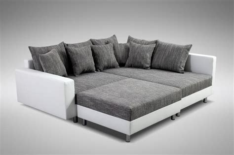 liegelandschaft sofa modernes sofa ecksofa eckcouch in weiss eckcouch mit