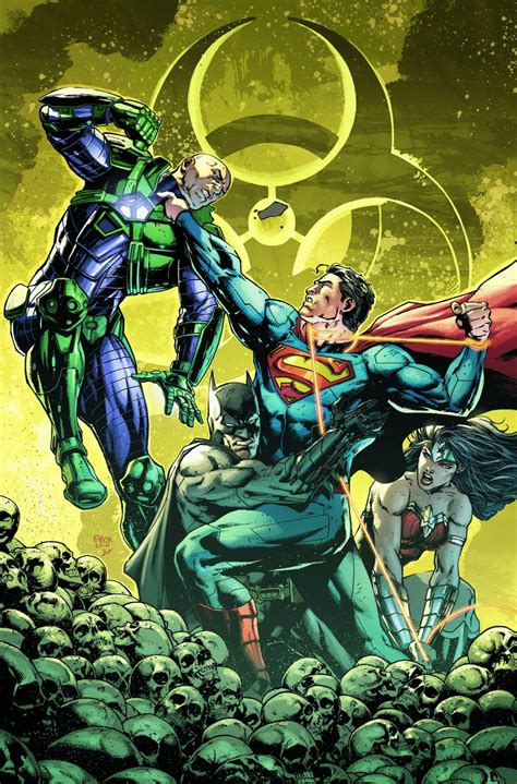 Poster Unclear Justice One dc discusses quot amazo virus quot arc in justice league