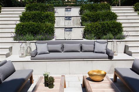 Banc De Jardin Moderne by Banc Jardin Design Moderne Accueil Design Et Mobilier