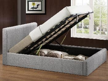 birlea brooklyn fabric ottoman bed birlea brooklyn double light grey fabric ottoman bed frame