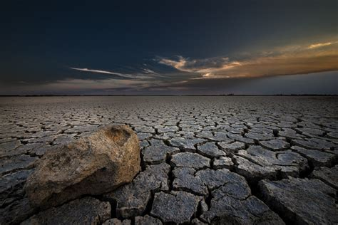 stone desert of the crack nature and dry land stone desert hd wallpaper