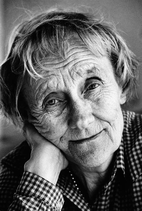 Astrid Lindgren (the mother of Pippi Longstocking and