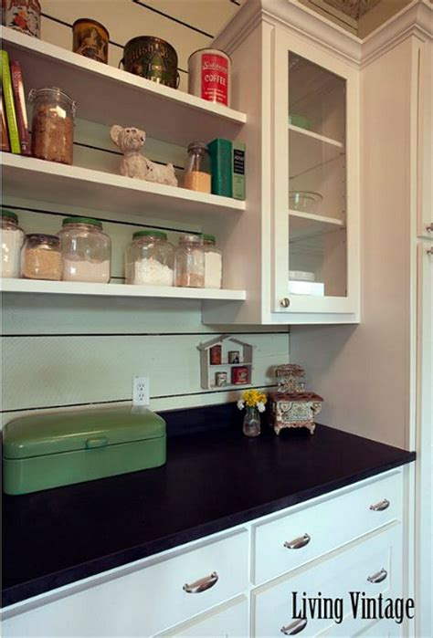 Vintage Kitchen Makeovers Before After Creates A New Vintage Kitchen In