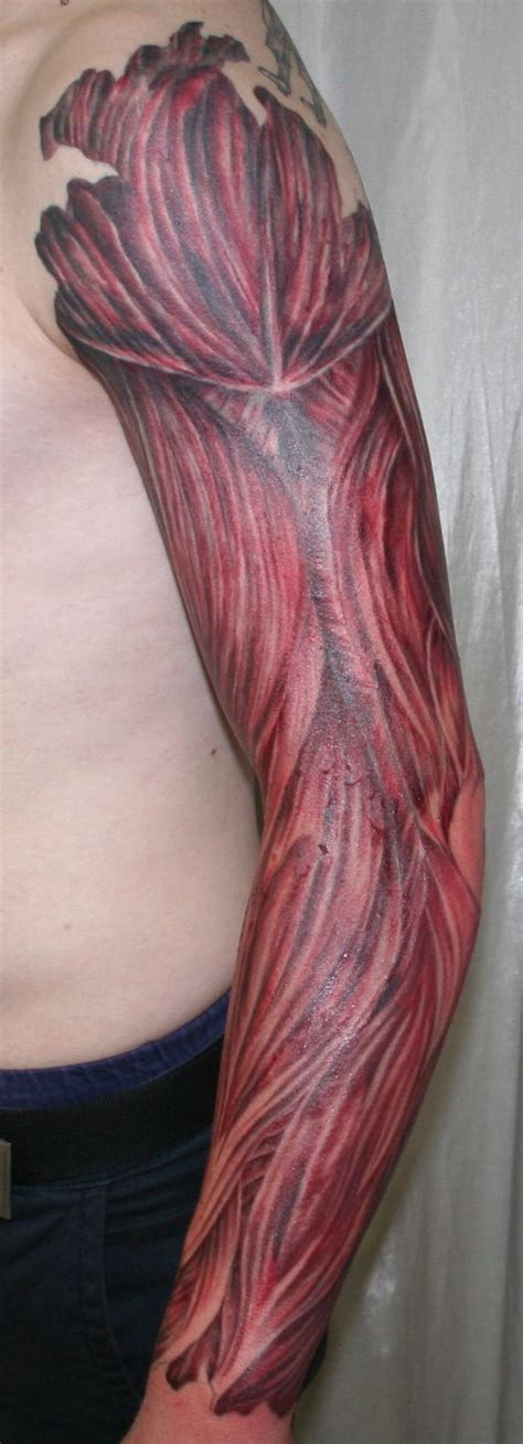tattoo arm muscle arm with muscle tissue3 tattoo by 2face tattoo on deviantart