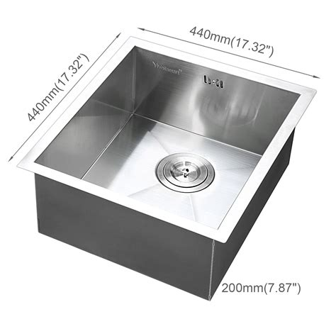 stainless steel sink undercoating stainless steel kitchen sink square bowl laundry washing