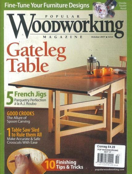 popular woodworking magazine subscription