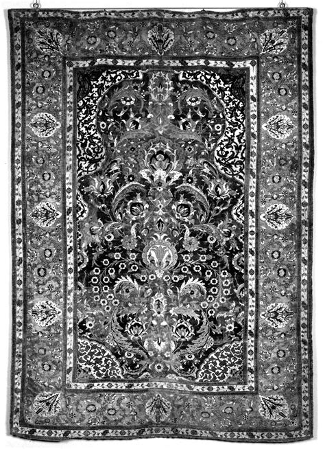 Ornamental Rugs by File Turkish Prayer Rug With Floral And Ornamental Designs Walters 814 Jpg Wikimedia Commons