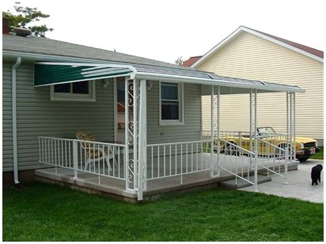patio awning metal metal patio awnings patio design