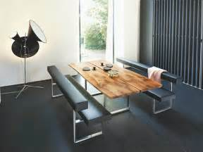Contemporary Dining Table With Bench 5 Looks 5 Girsberger Dining Tables Benches Chairs