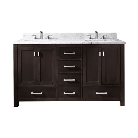 avanity modero  modero   double sink bathroom vanity  atg stores