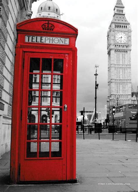 cabina telefonica londinese cartolina cabina telefonica di londra www caprishop it