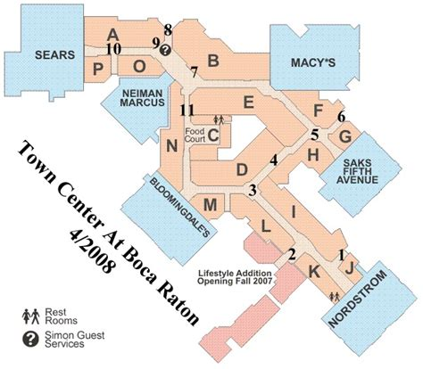 sawgrass mills map sawgrass mills mall map
