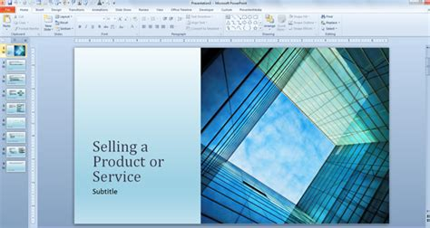 Sales Presentation Template Free free business sales template for powerpoint presentations