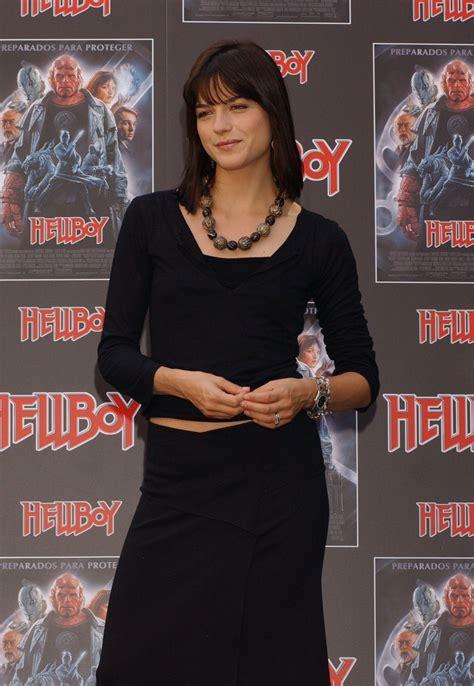 Selma Blairs Black Number For Hellboy Ii by Pin Selma Blair Style On