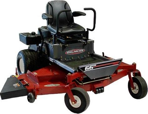 big lawn mowers swisher zt2766 big mow 66 inch 27 hp zero turning radius lawn mower