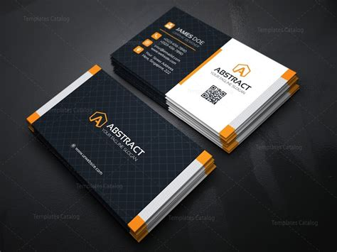 stylish business cards templates stylish business card design template 000158 template