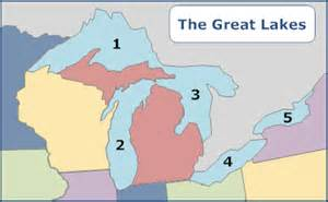 united states map 5 great lakes maps review jeopardy review answer key
