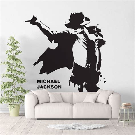 michael wall stickers michael jackson wall stickers peenmedia