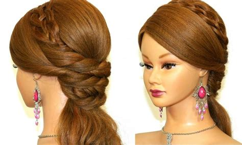 easy and simple hairstyles to do at home 15 best ideas of long hairstyles at home