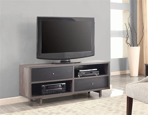 Distressed Black Tv Stand by Distressed Grey And Black Tv Stand 700795 Coaster Furniture