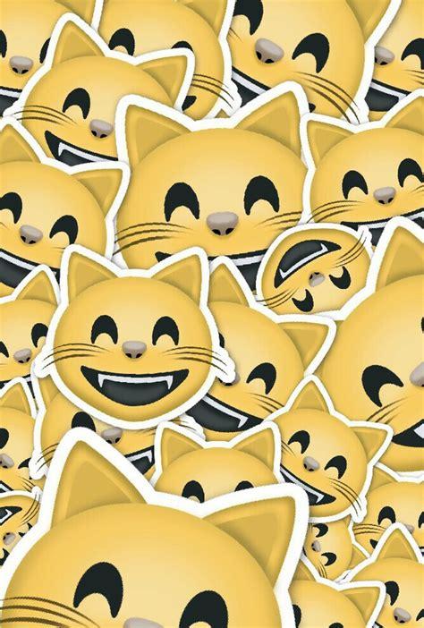 cat emoji wallpaper cat emoji image 2694630 by miss dior on favim com