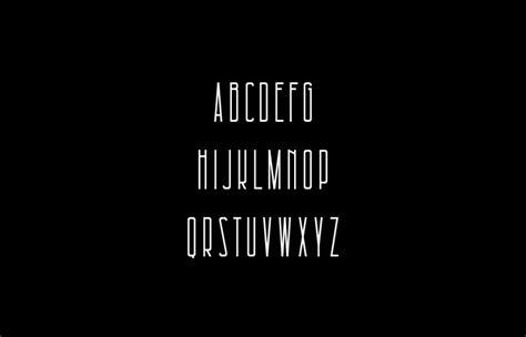 architectural  font befontscom