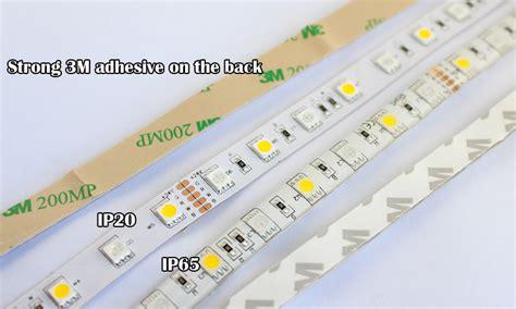 ip67 led strip lights 12v 24v rgbw rgbww led strip lights 5050 60leds m