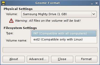 format fat32 ubuntu como formatear memorias usb o flash f 225 cilmente desde