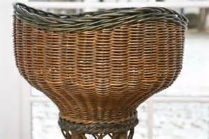 wicker planter for sale at 1stdibs