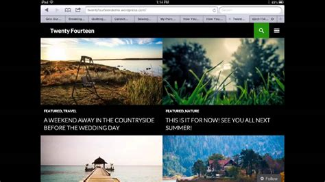 tutorial wordpress twenty fourteen twenty fourteen wordpress theme review first peek