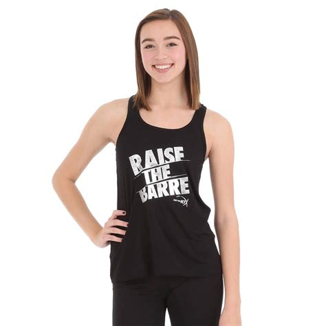 Raise The Barre raise the barre foil tank jfk 513